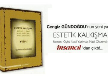 Cengiz Gündoğdu'nun Yeni Eseri: ESTETİK KALKIŞMA çıktı!