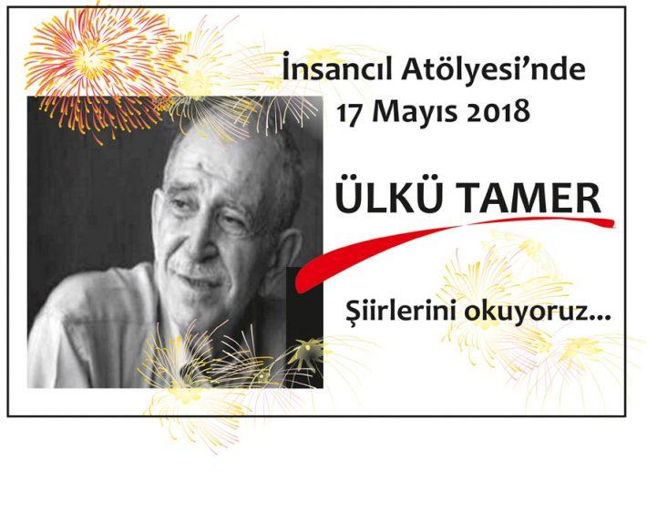 İnsancıl Mayıs ayı şiir etkinliği ÜLKÜ TAMER