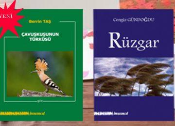 Şair Berrin TAŞ ve Cengiz GÜNDOĞDU'nun yeni kitapları
