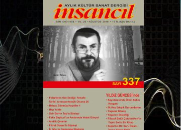 İnsancıl dergisi Ağustos 2018 / Sayı 337