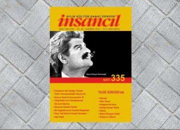 İnsancıl dergisi Haziran 2018/Sayı 335