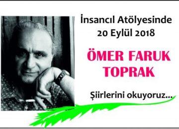 İnsancıl Eylül 2018 şiir etkinliği Ömer Faruk TOPRAK
