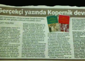 Gülay Yeşilipek'in yazısı Cumhuriyet Kitap ekinde yayınlandı.