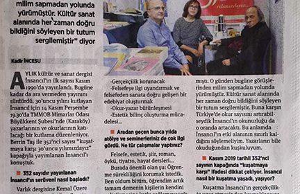İnsancıl'ın 30 yıllık mücadelesi-Birgün Gazetesi