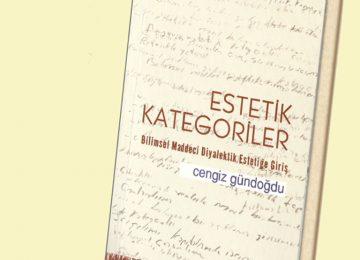 Cengiz Gündoğdu'dan Yeni Kitap: Estetik Kategoriler